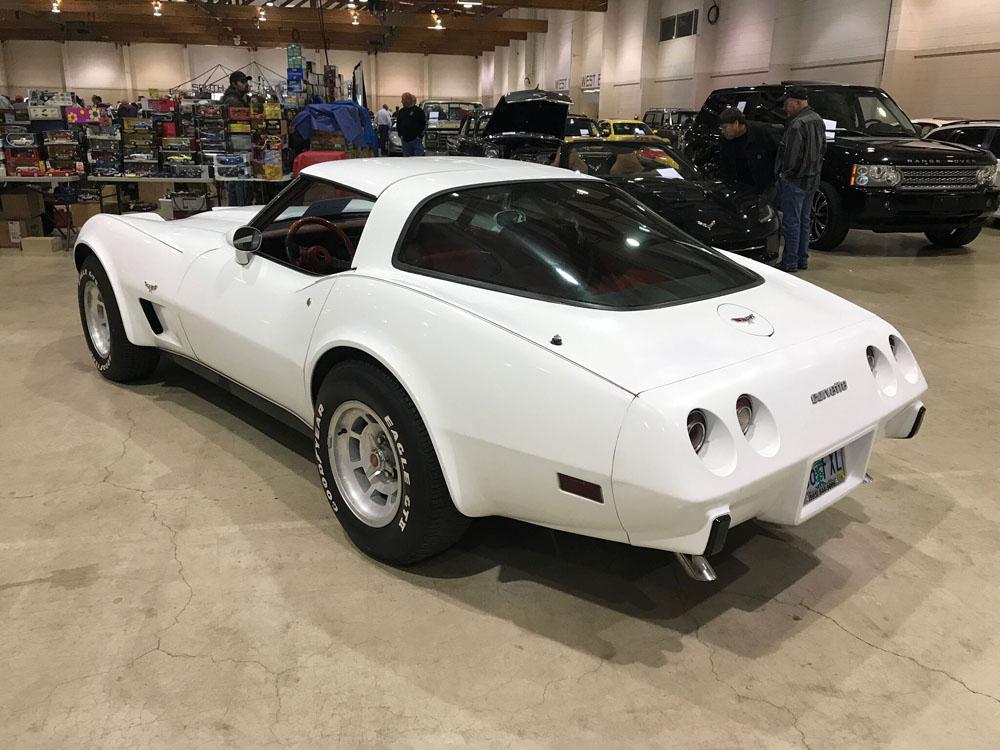 1979 Chevrolet Corvette White