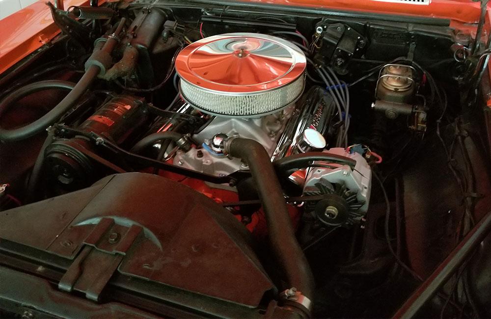 1968 Chevy Camaro RS  Orange/White