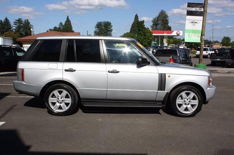 2004 Land Rover Ranger Rover 4 door UT  Silver