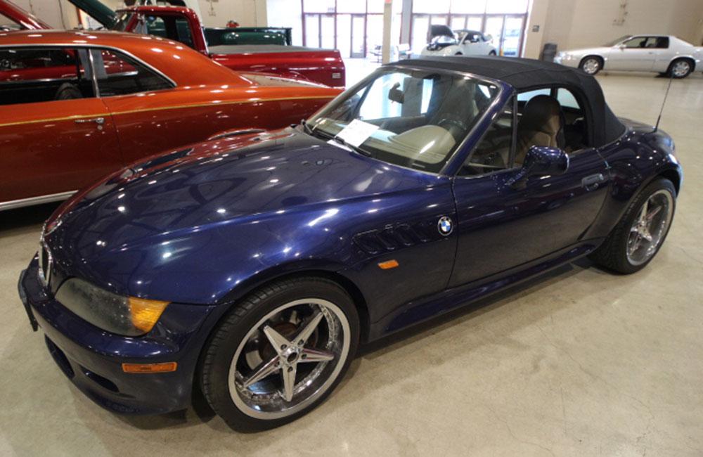 1997 BMW 23MZ Blue