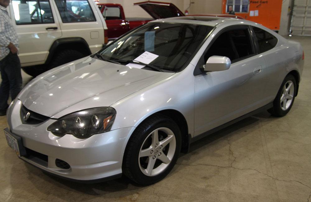 2002 Acura RSX Silver