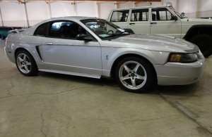 2003 Ford Mustang Silver