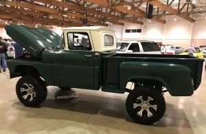 1961 Chevy Apache Green