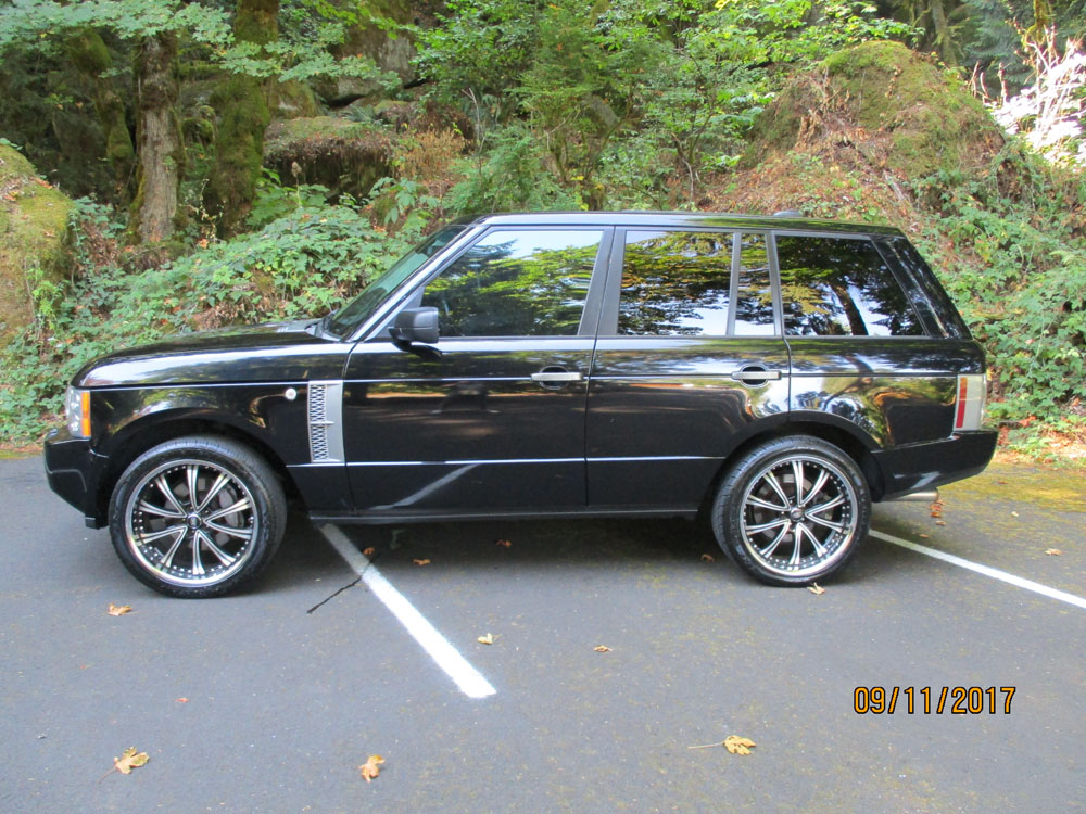 2008 Land Rover Range Rover Westminster Edition