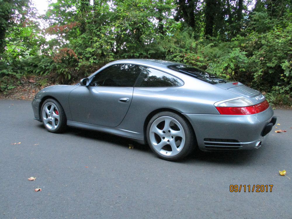 2003 Porsche 911 C45 Coupe  Grey