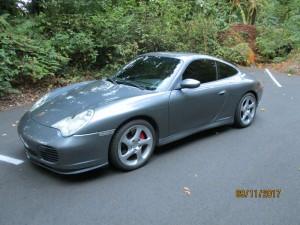 2003 Porsche 911 C45 Coupe  Grey