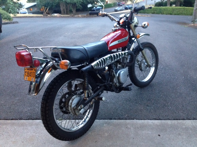 1975 Suzuki TC Ranger