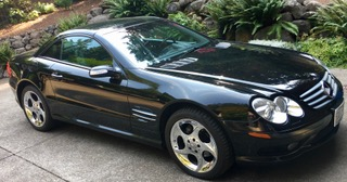 2004 Mercedes Benz 500 SL
