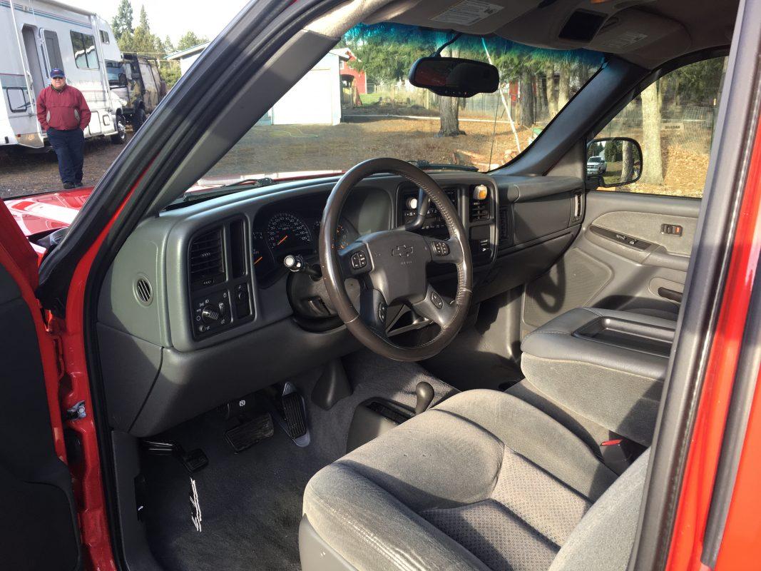 2003 Chevrolet PU short wide