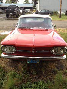 1962 Chevrolet Monza Convertible   Red