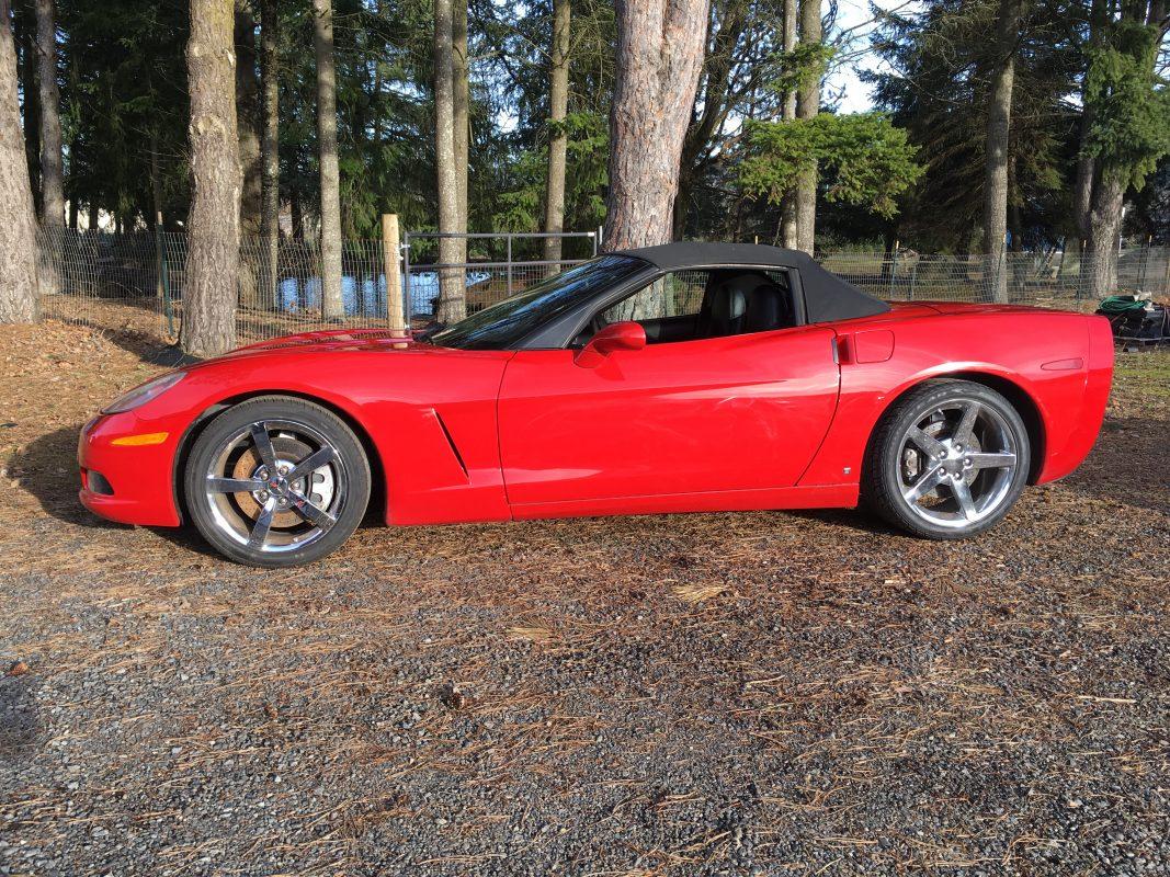 2008 Chevrolet Corvette Red