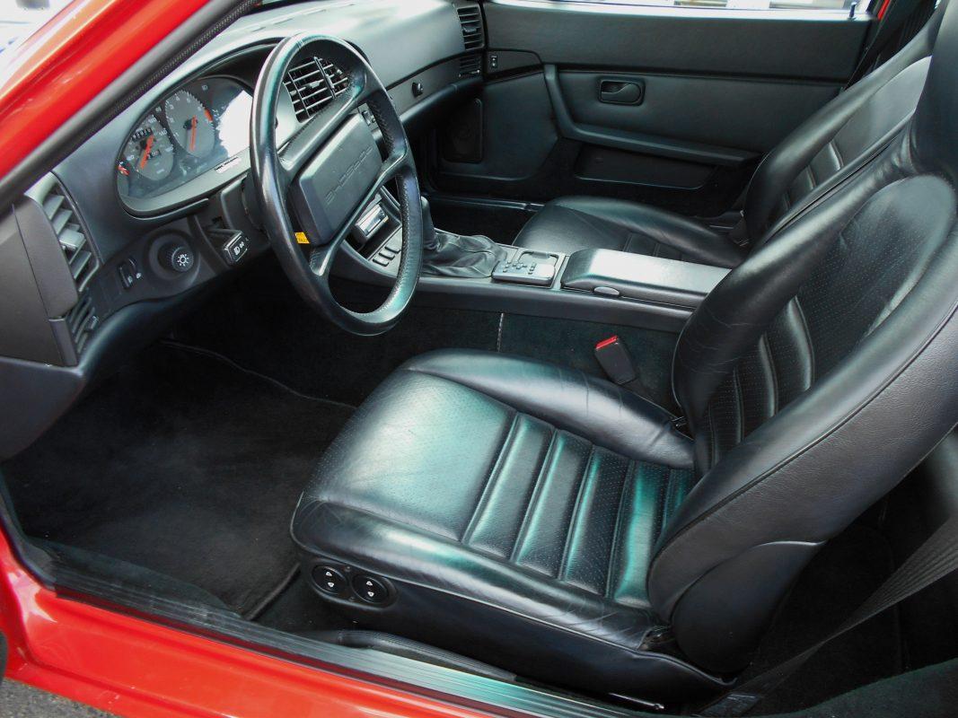 1989 Porsche 944  Red