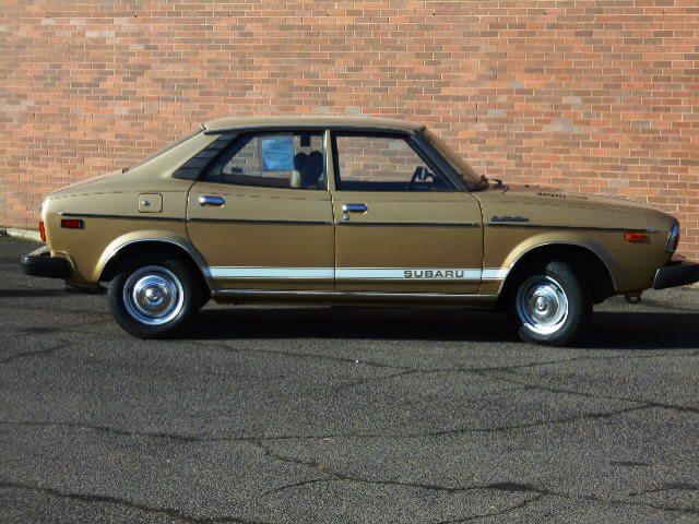 1978 subaru dl 4 door sedan gold petersen collector car auctions oregon. Black Bedroom Furniture Sets. Home Design Ideas