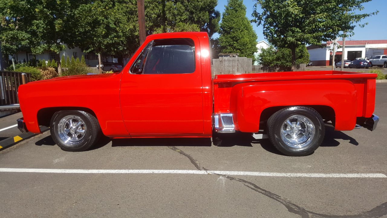 1973 Chevrolet C-10 Step Side Pick Up