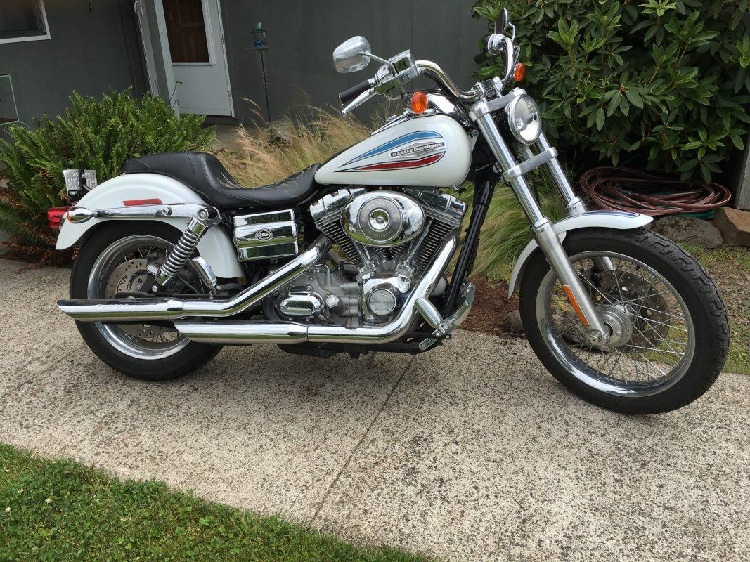2006 Harley Davidson FX White