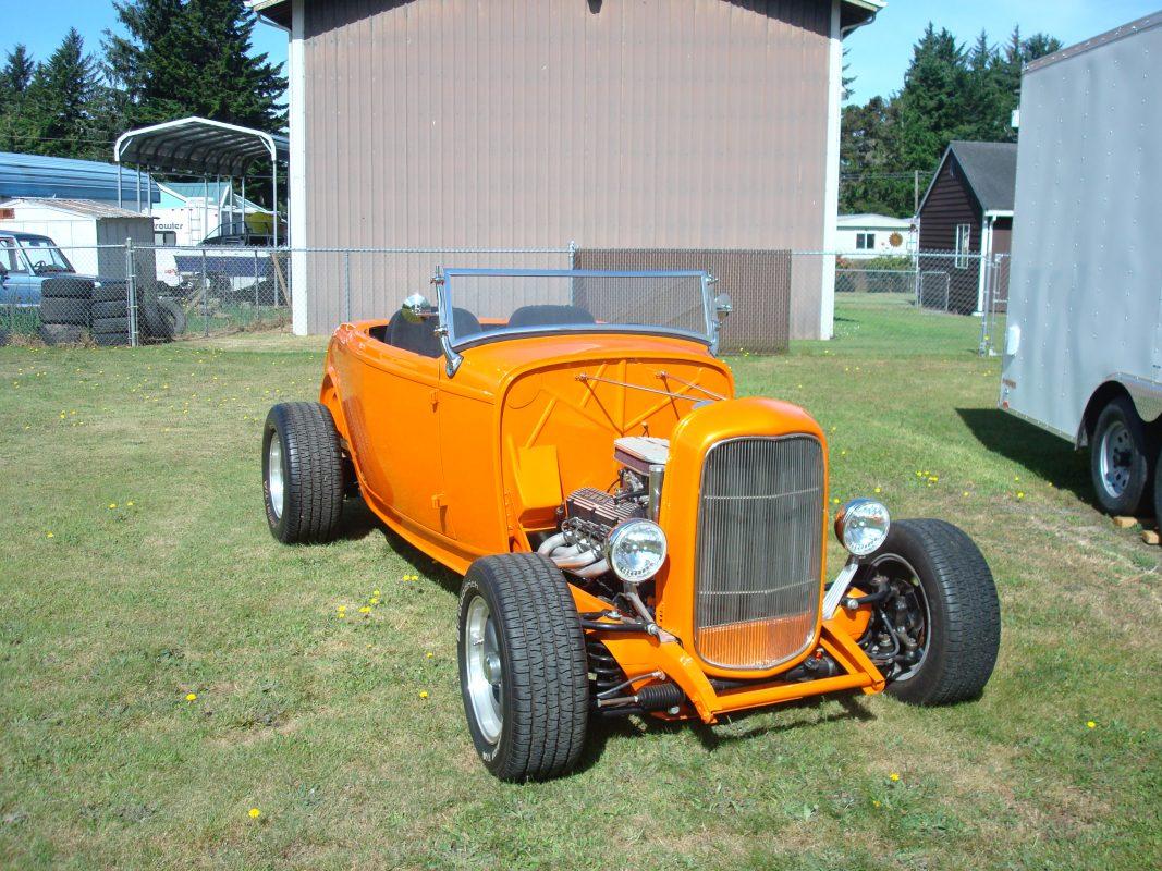 1932 Ford Hi-Boy   Orange