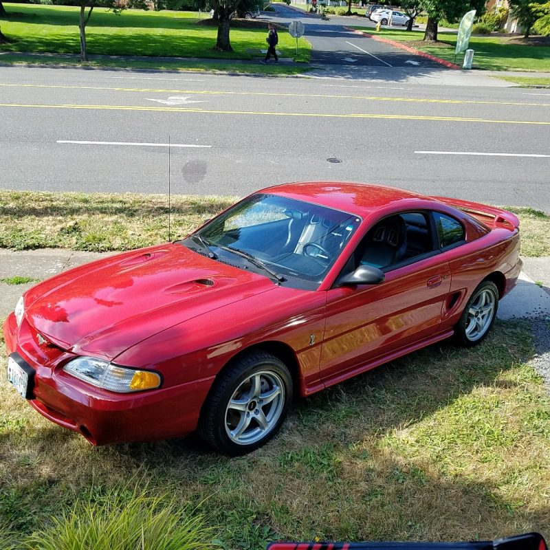 1998 Ford Mustang Cobra Red