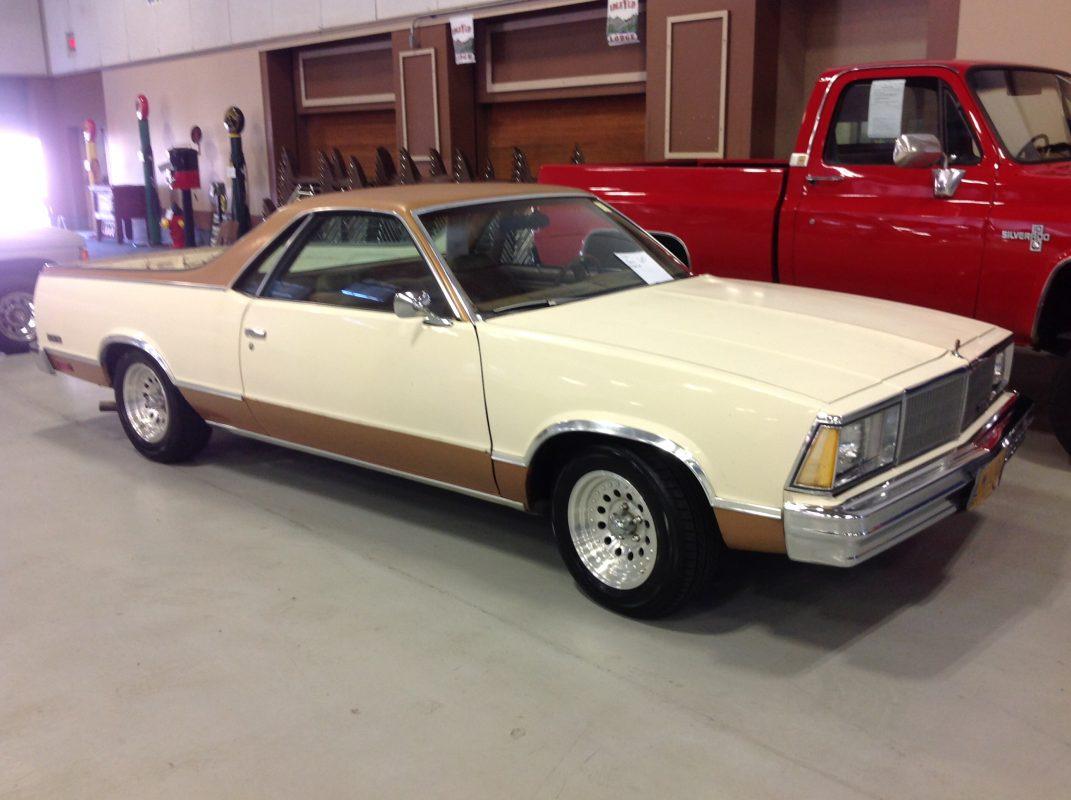 1980 Chevrolet El Camino Gold