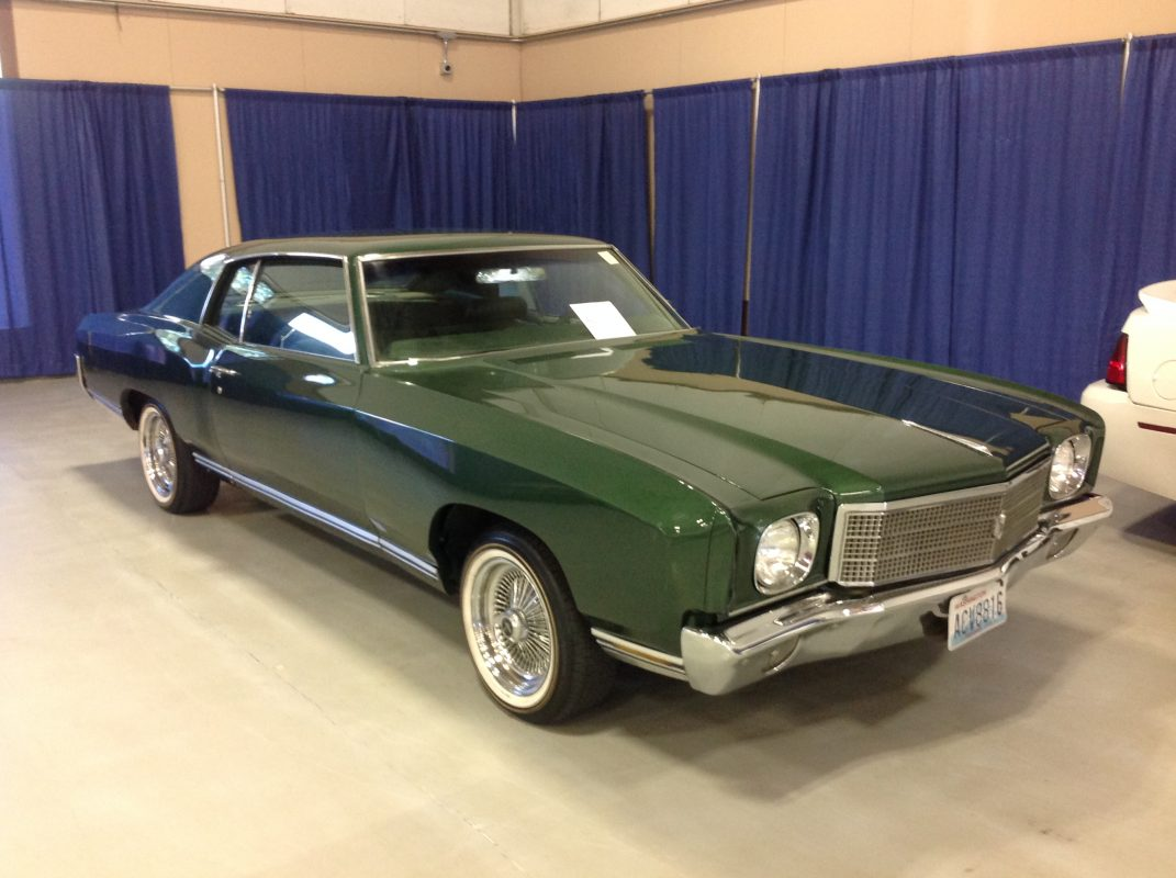 1971 Chevrolet Monte Carlo  Green