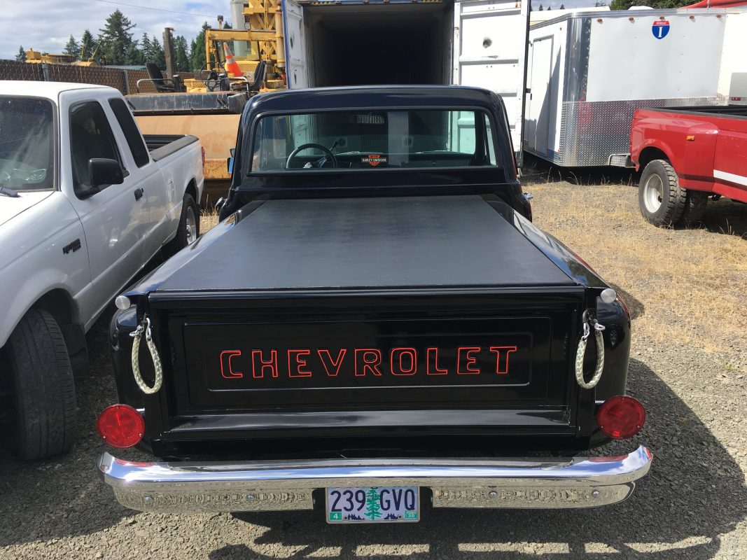 1972 Chevrolet PU Stepside  Black