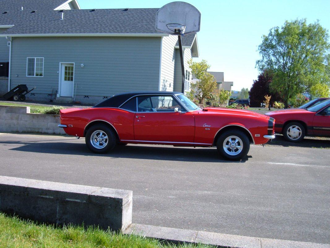 1968 Chevrolet Camaro Petersen Collector Car Auctions Oregon Ad