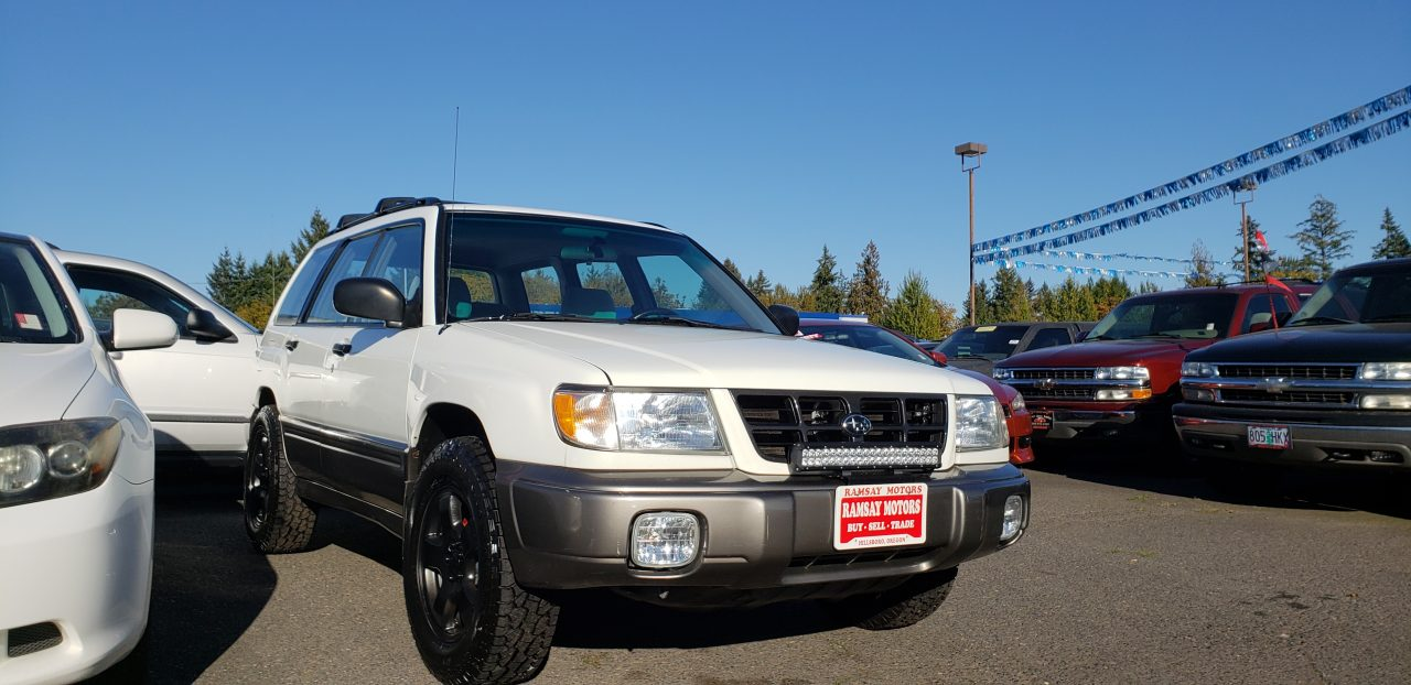 1998 Subaru Forester Hatchback