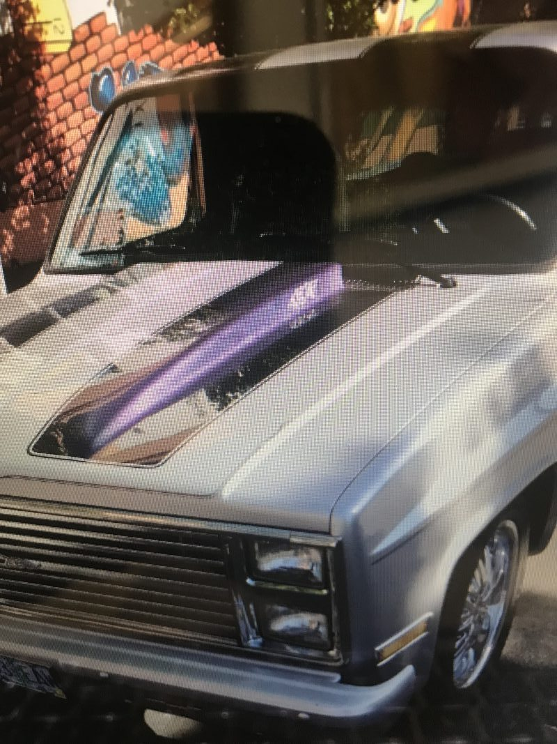 1987 Chevrolet Shortwide PU Silver