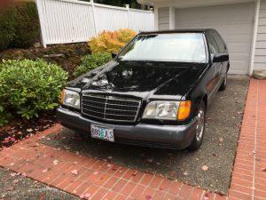 1993 Mercedes Benz 400 SEL