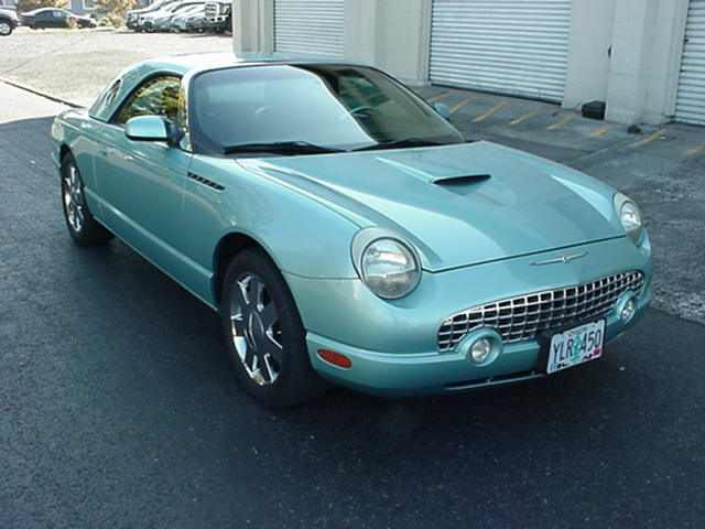 2002 Ford Thunderbird Teal