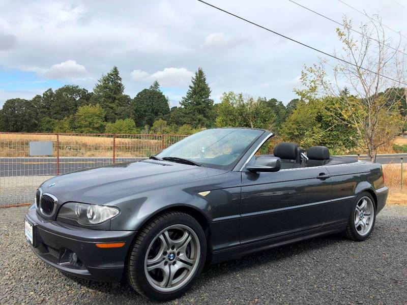 2006 BMW 330ci  Convertible Blue