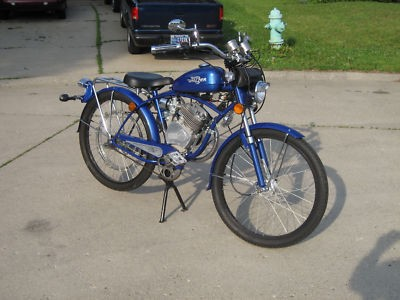 2005 Whizzer Bike  Blue