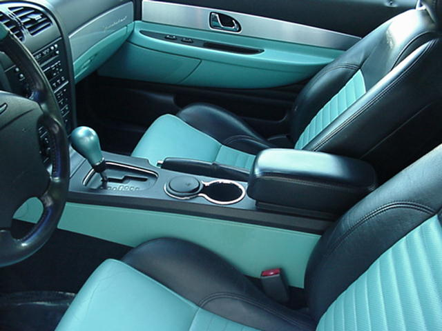 2002 Ford Thunderbird Convertible Teal