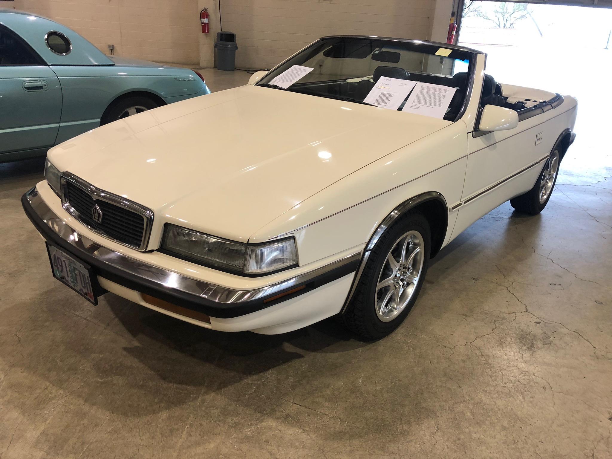 1990 Chrysler Maserati Coupe