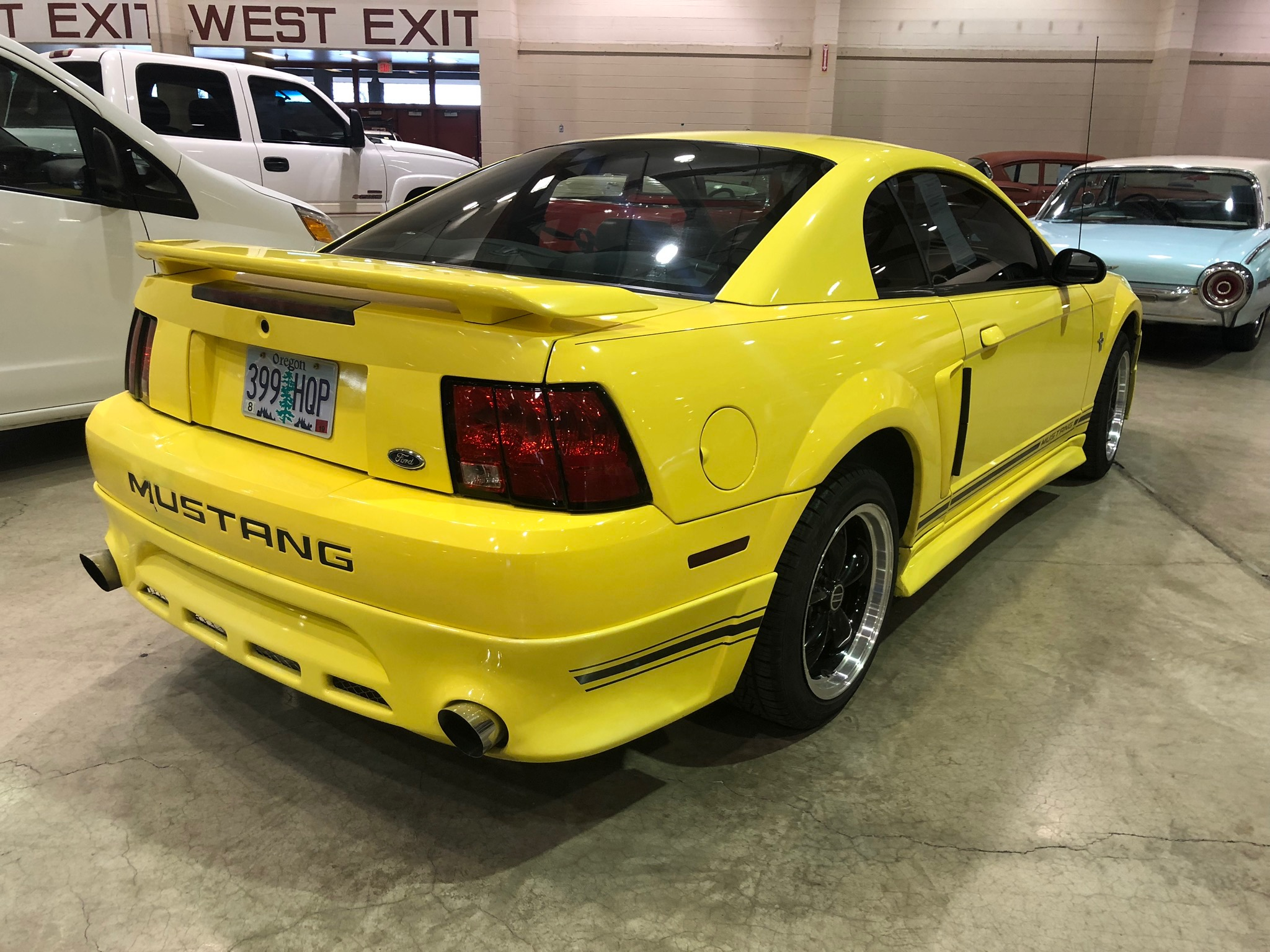 2001 Ford Mustang Yellow