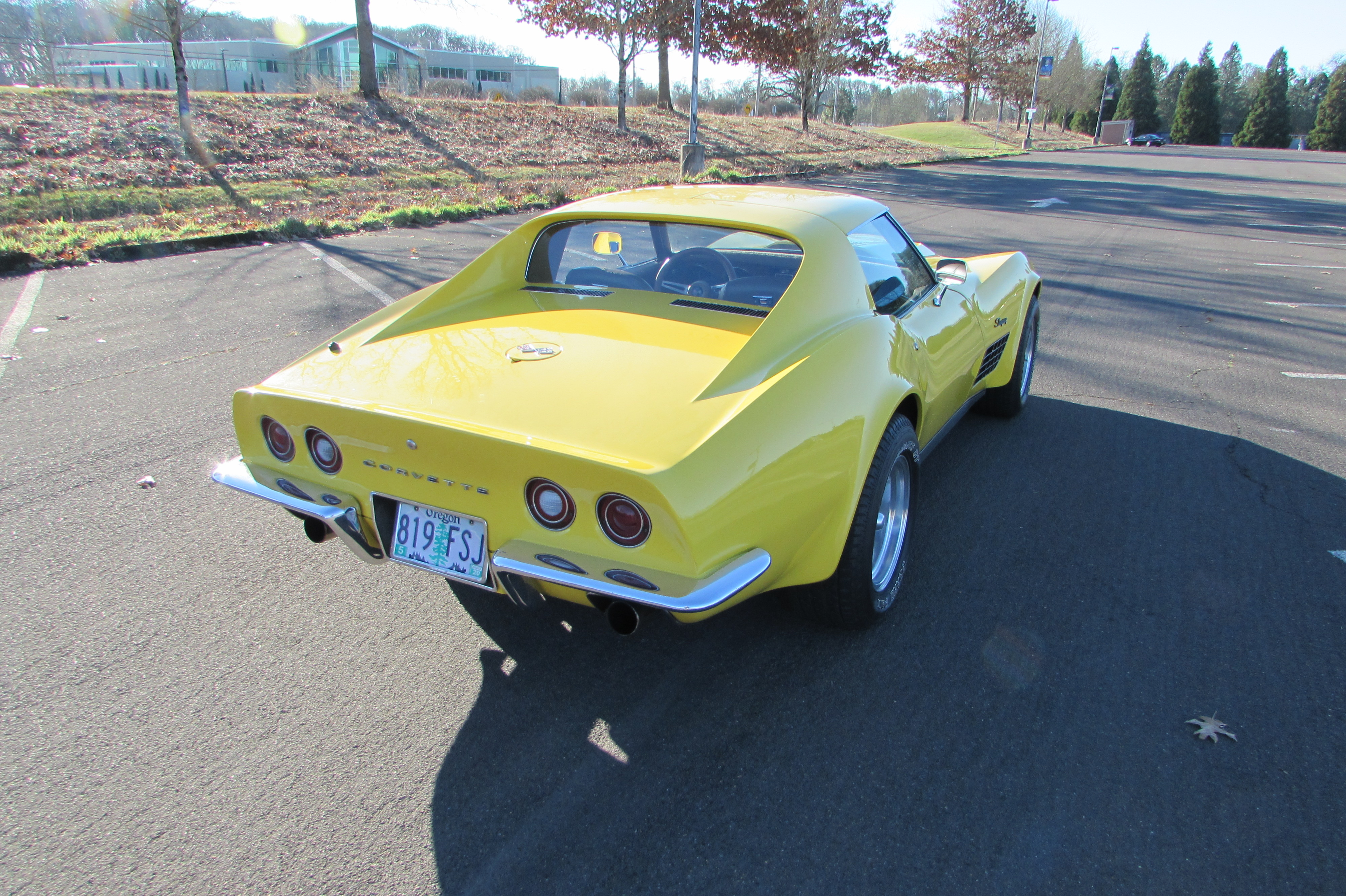 1972 Chevrolet Corvette Stingray Yellow