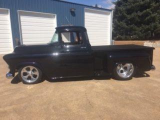 1955 Chevrolet PU Black