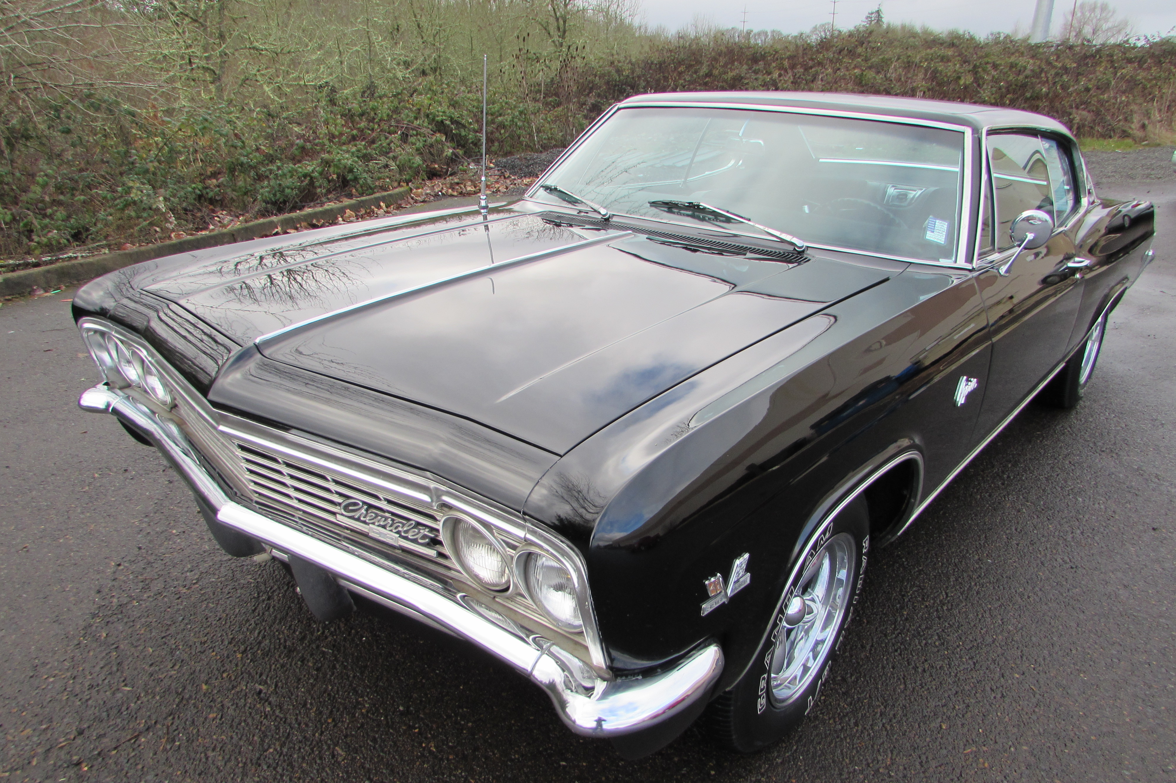 1966 Chevrolet Caprice  Black