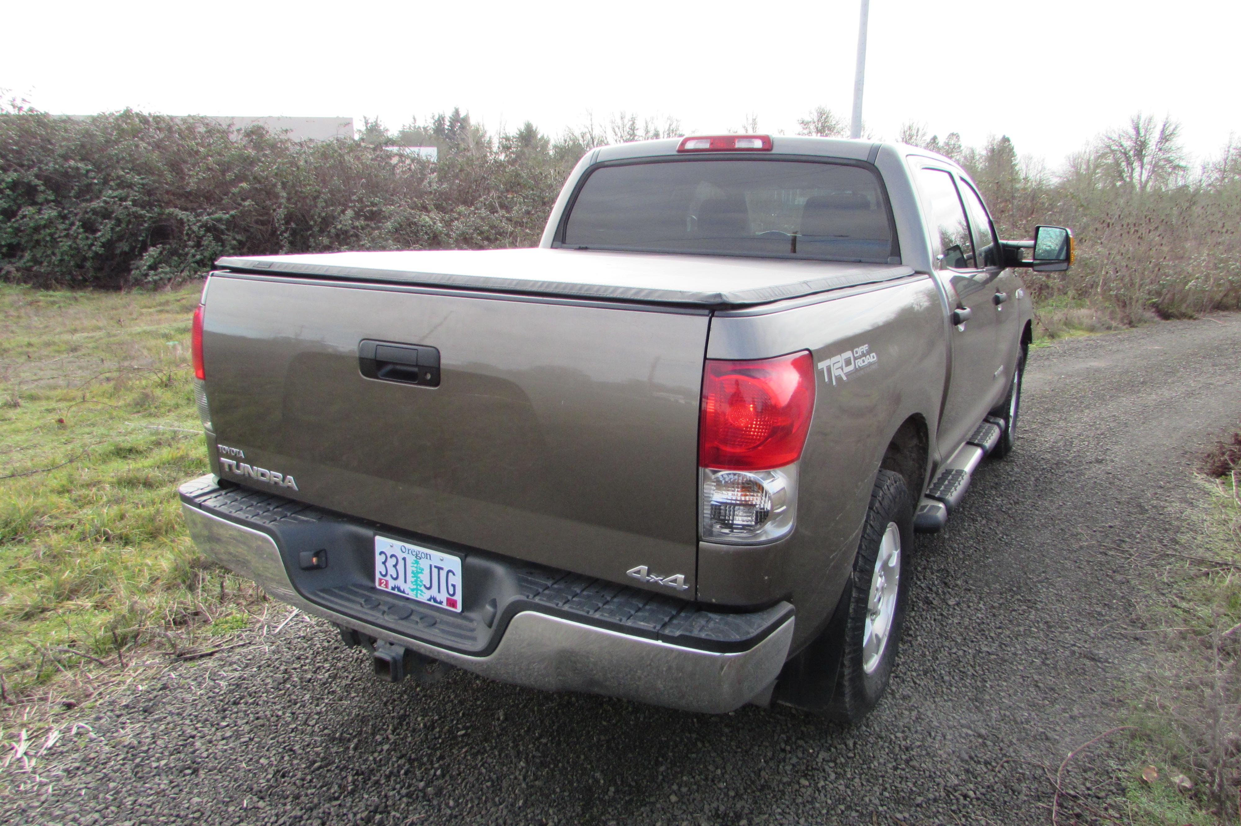 2007 Toyota Tundra PU Silver