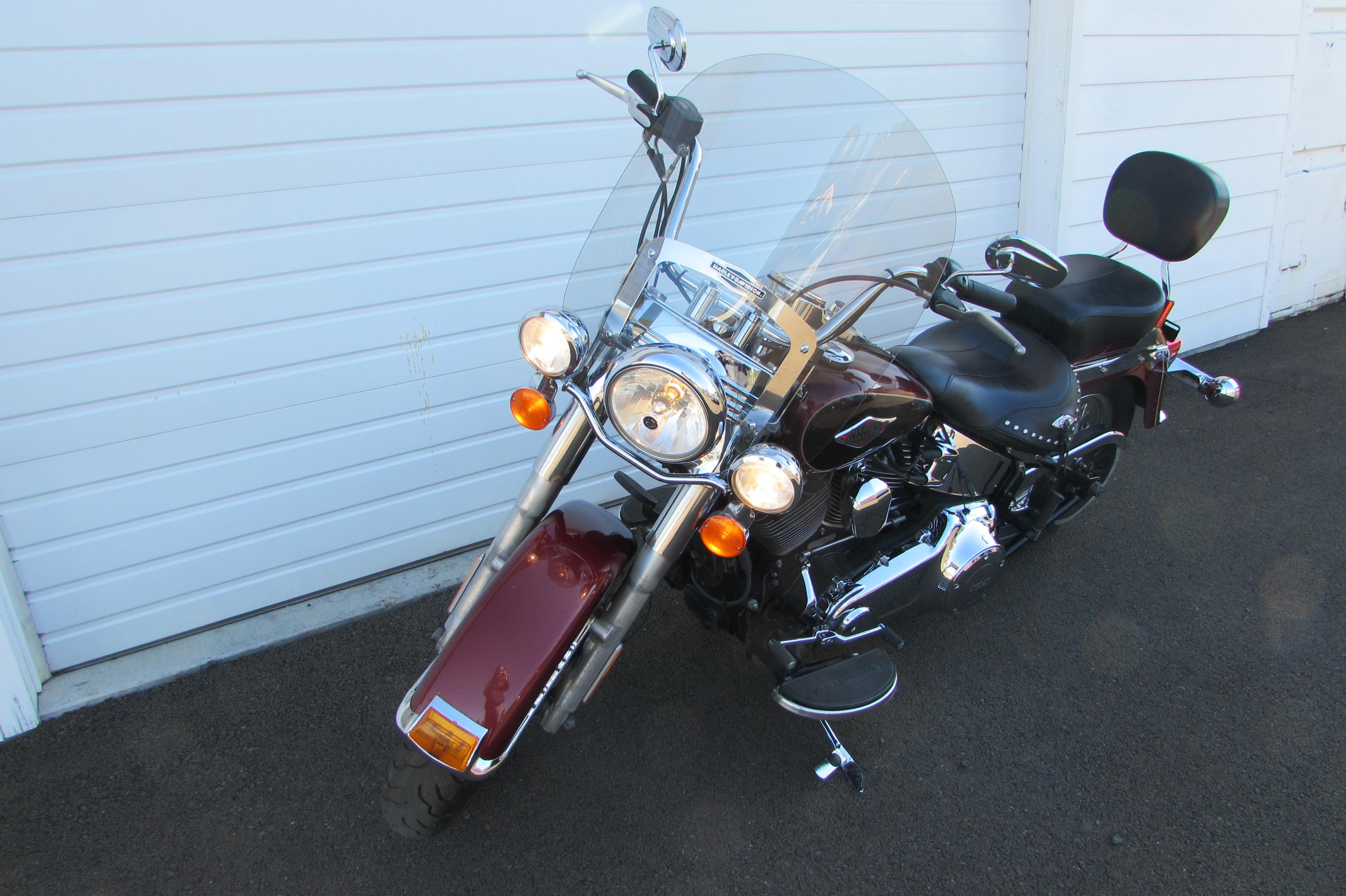 2015 Harley Davidson FLSTC Heritage