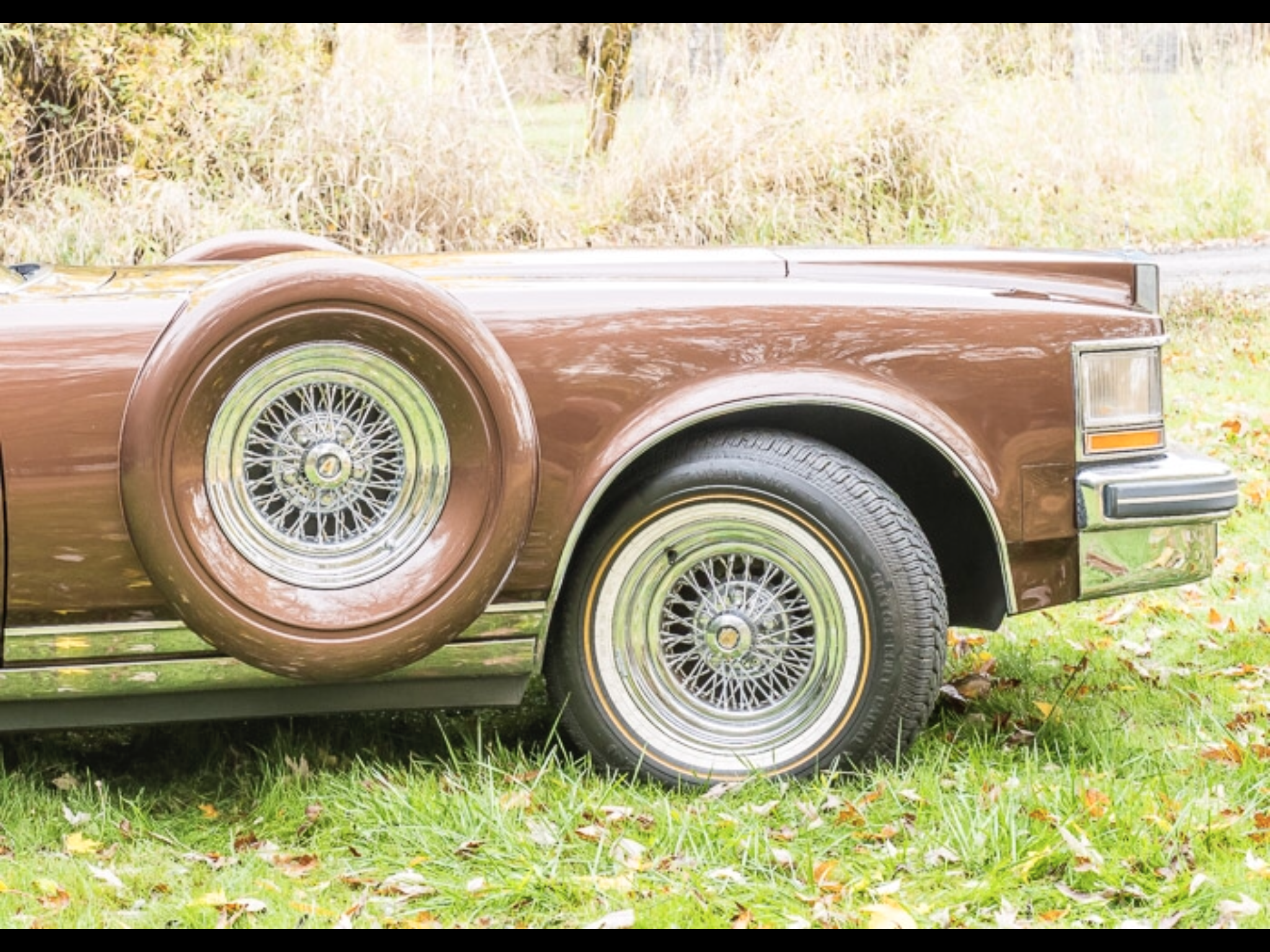 1978 Cadillac Seville Coupe Gold