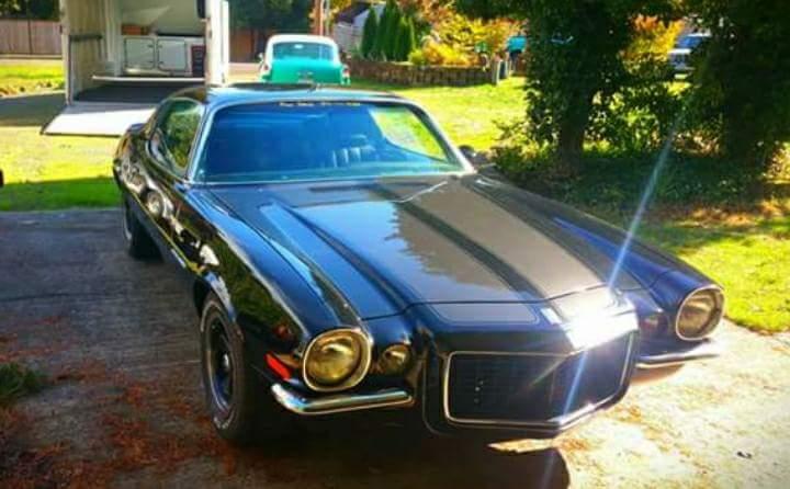 1970 Chevrolet Camaro  Black