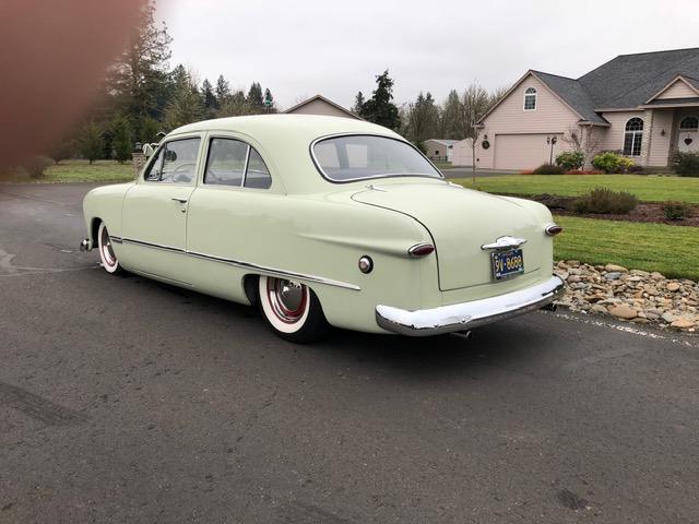 1949 Ford 2 door Sedan Tan