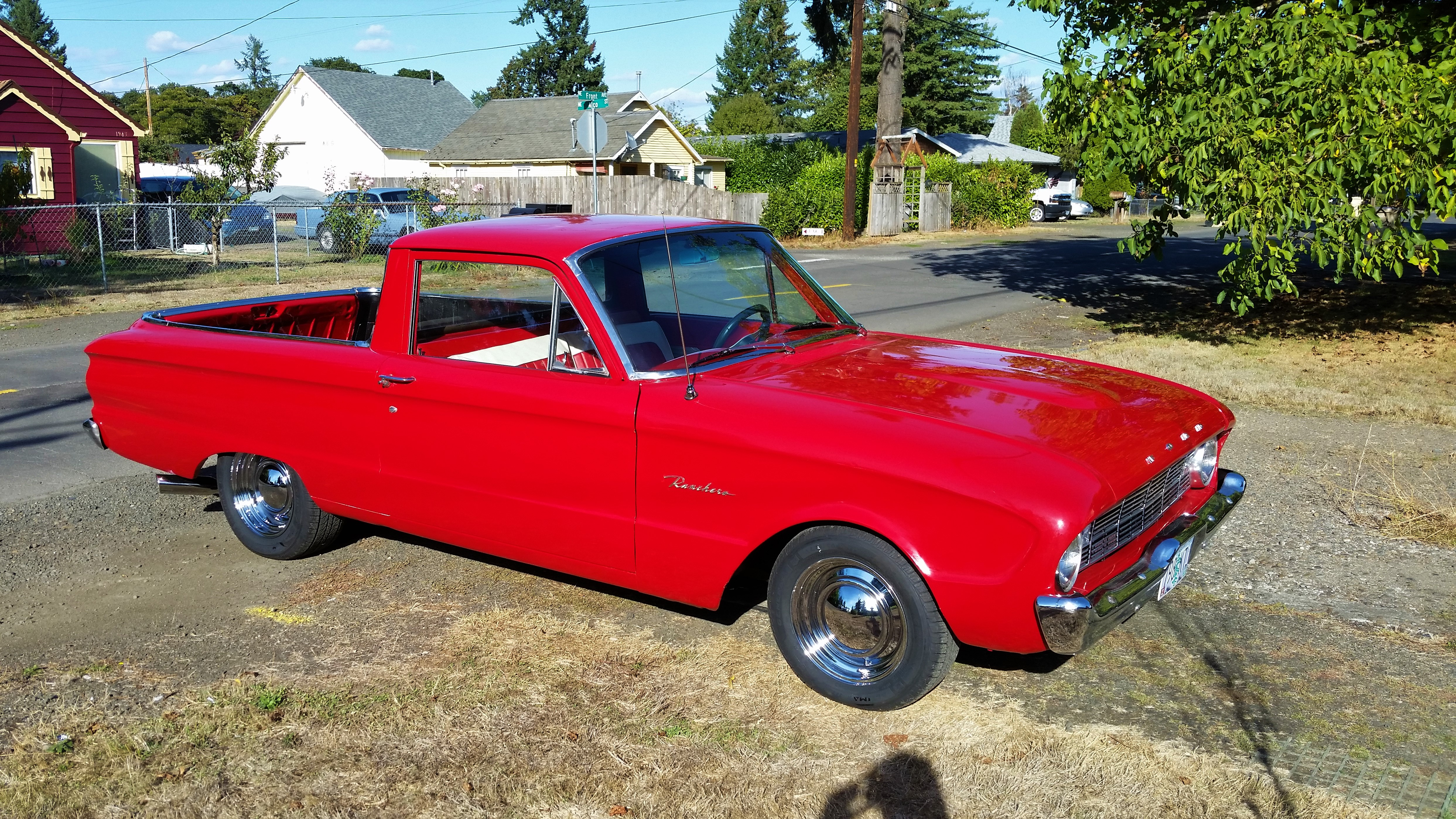 1960 Ford Ranchero Red