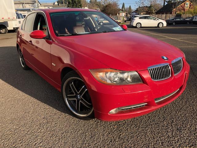 2007 BMW 335xi  Red
