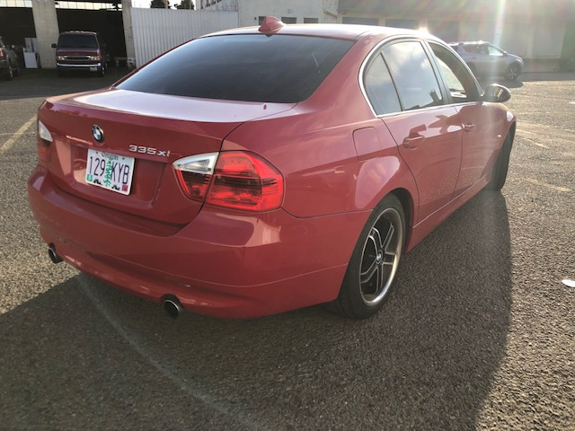 2007 BMW 335xi  Red