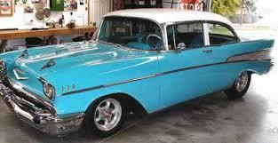 1957 Chevrolet 210 Turquoise & White