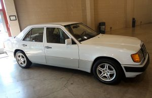1990 Mercedes Benz  4 door Sedan 300 E  White