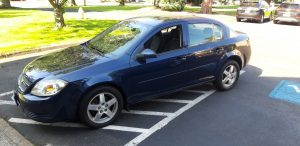 2010 Chevrolet Cobalt Blue