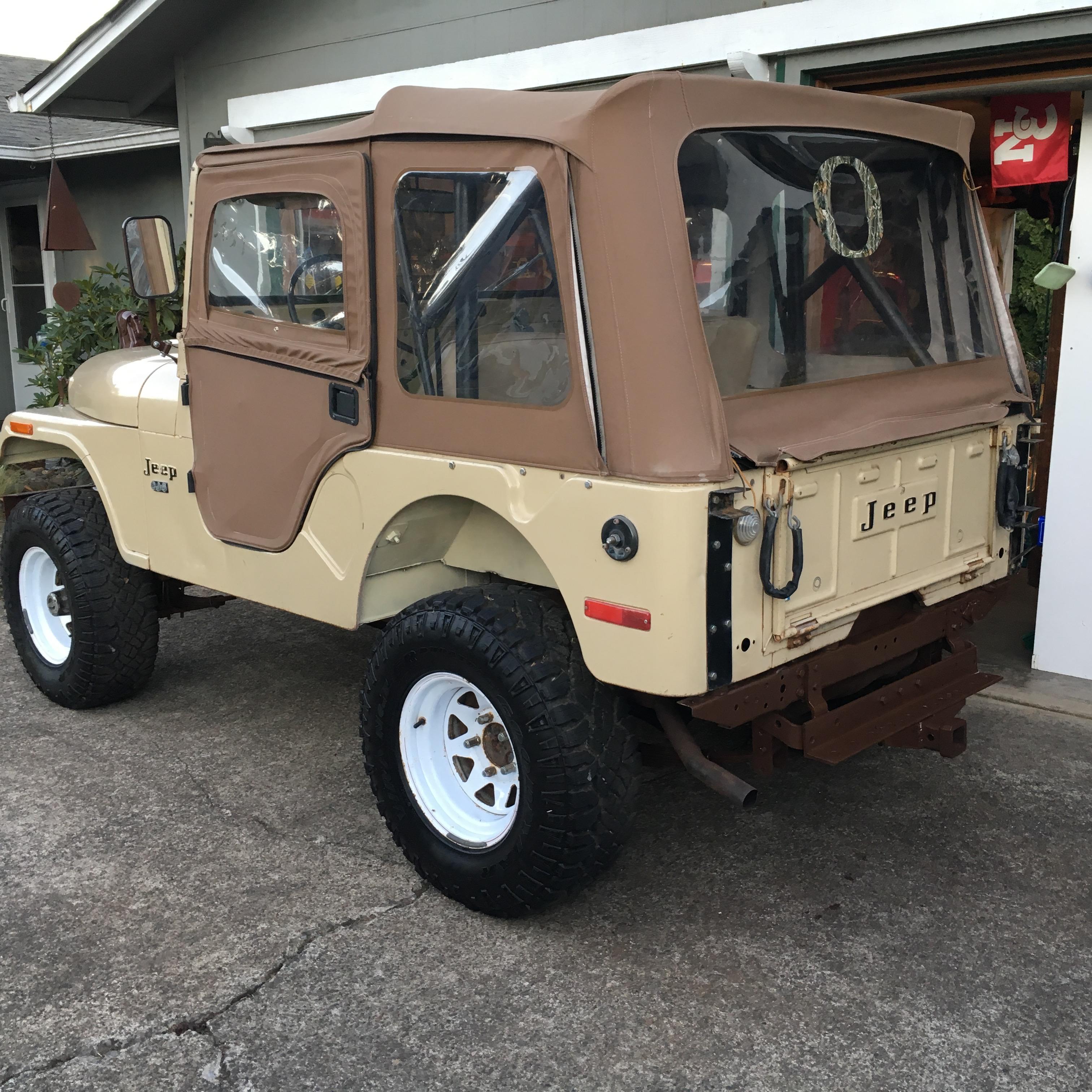 1974 Jeep  CJ5  Tan