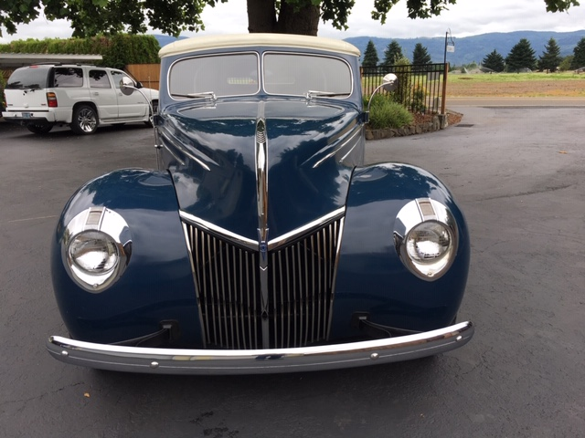 1939 Ford  Convertible Blue